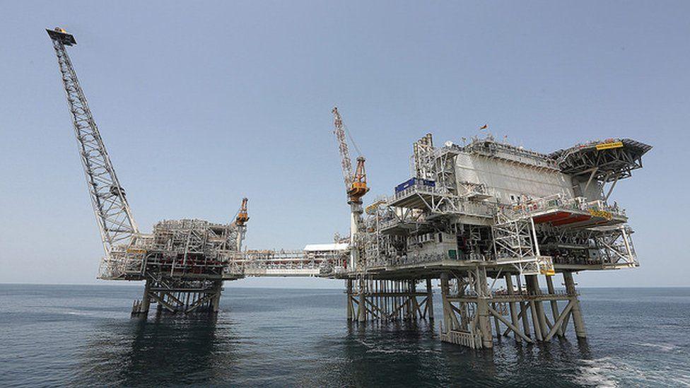 BP's new Azerbaijan Shah Deniz Bravo oil platform