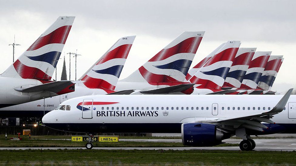 British Airways aircraft (file photo)