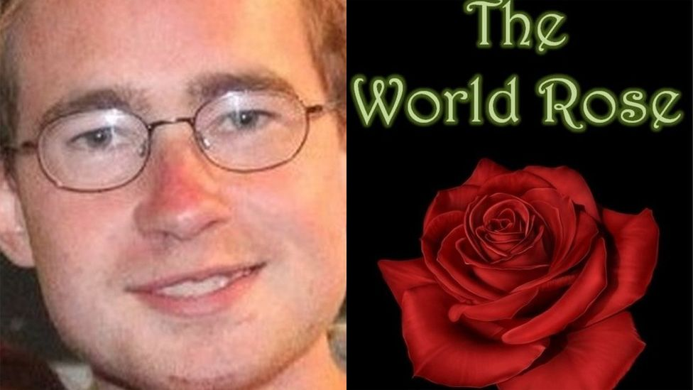 Richard Brittain and his book The World Rose