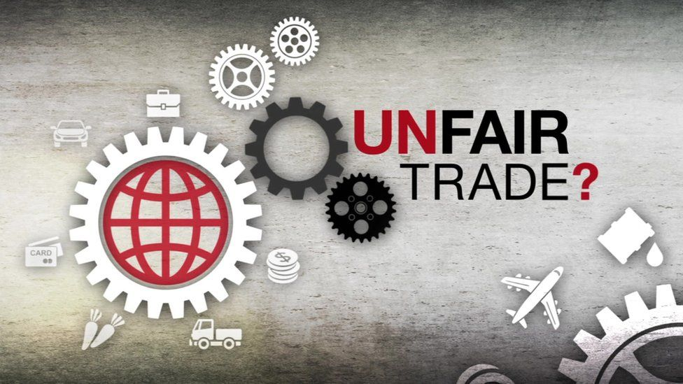 Unfair Trade logo