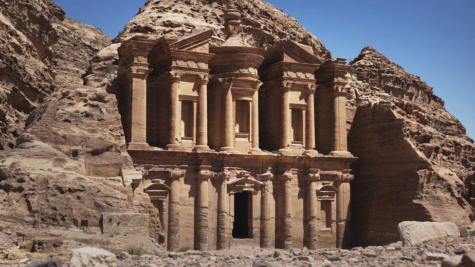 The Monastery at Petra, Jordan (29 March 2013)