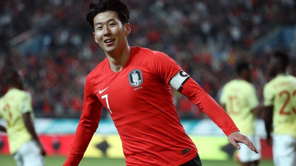 Tottenham's star striker Son Heung-min