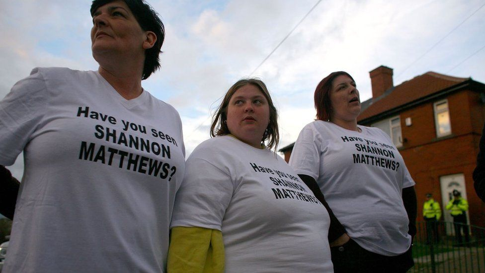 Moorside Estate residents joining the search for Shannon Matthews