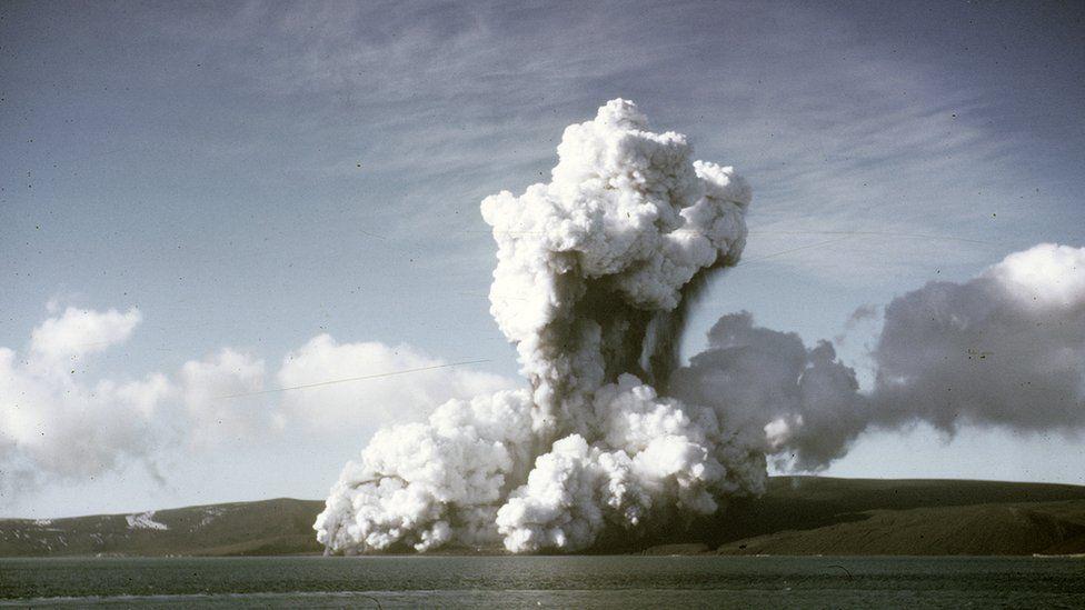 Deception volcano