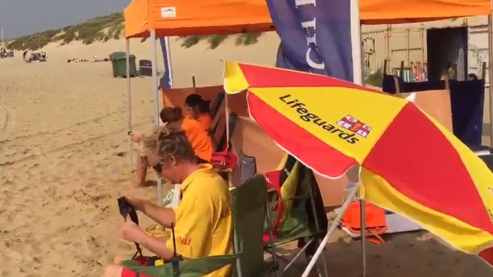 Lifeguards on Camber