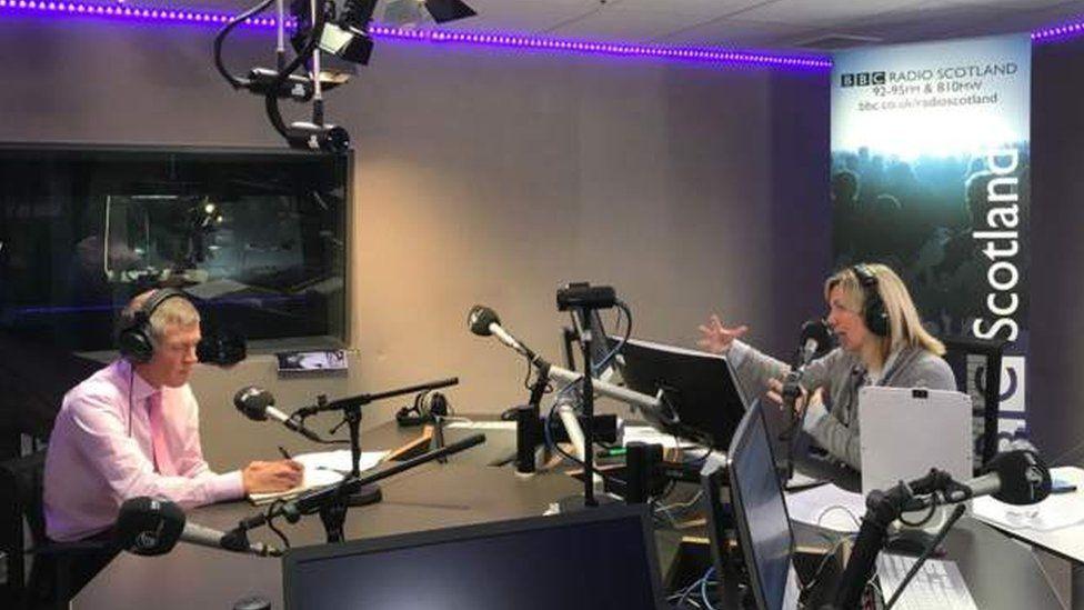 Willie Rennie on the radio