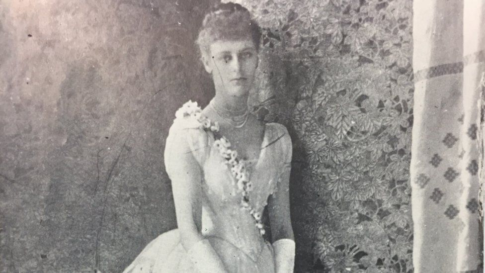 Constance Gore-Booth as a debutante in 1884 (PRONI Ref: D4131/K/4/1/3)