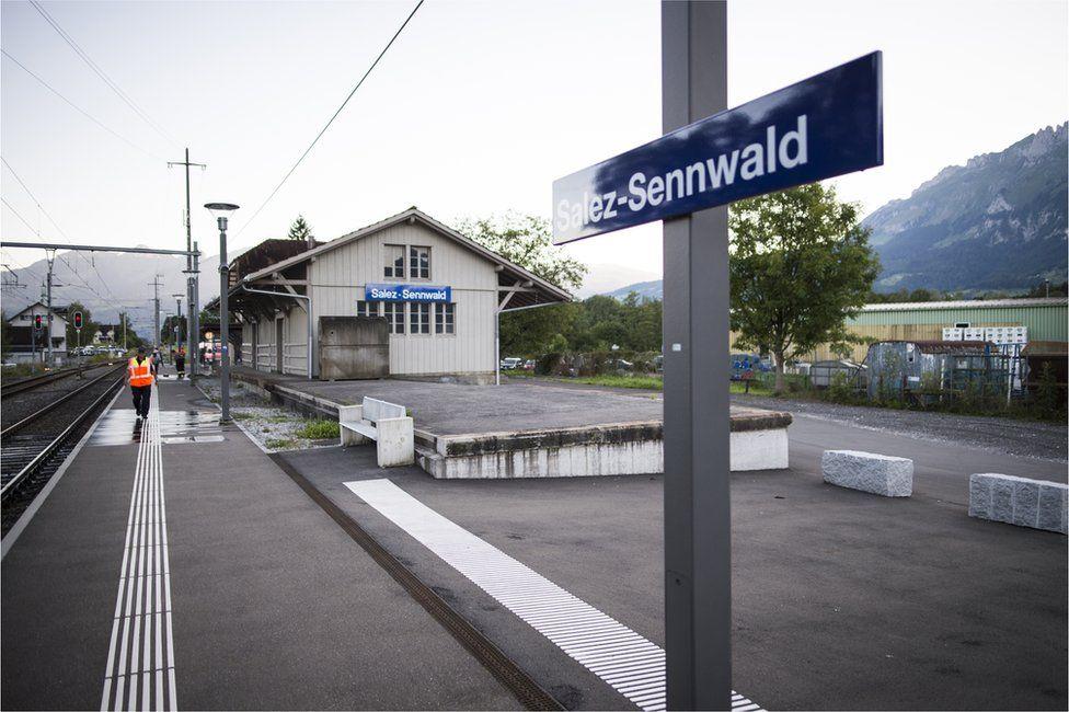 Salez station, 13 August