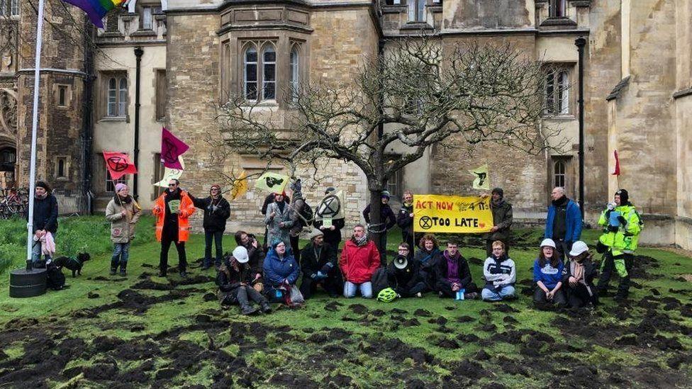 Extinction Rebellion at Trinity College