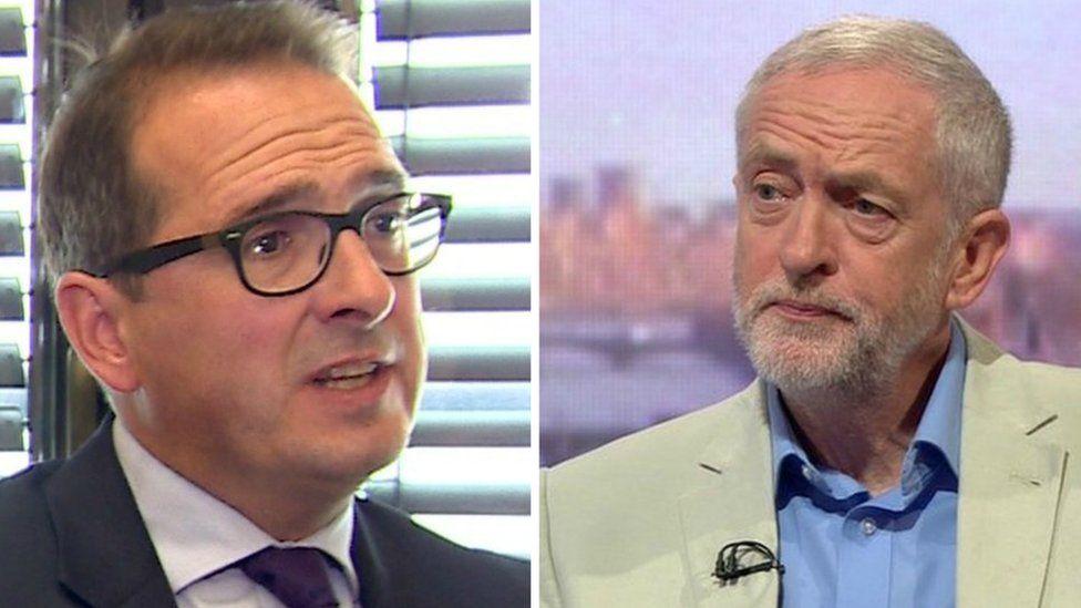 Owen Smith a Jeremy Corbyn