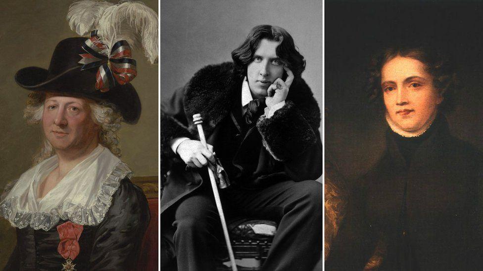 Chevalier D'Eon, Oscar Wilde, Anne Lister