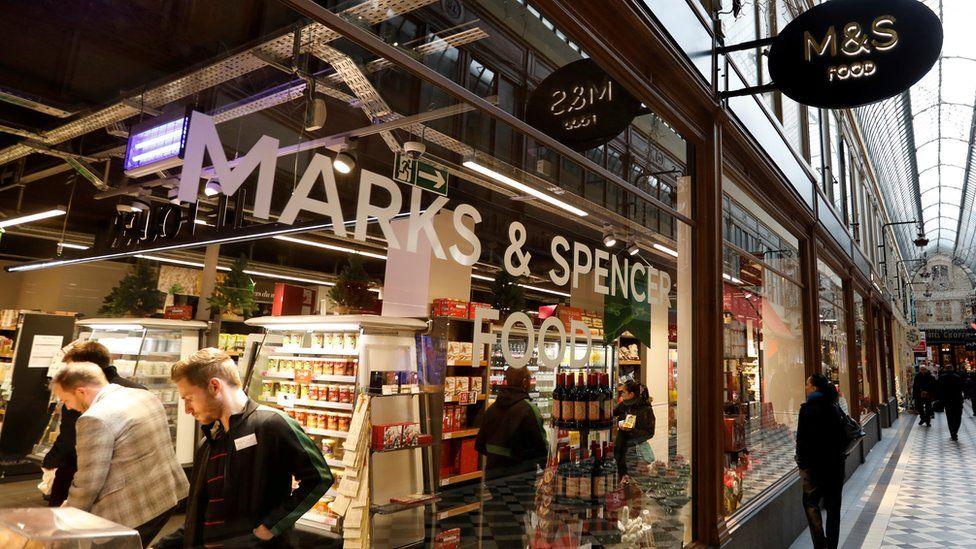 M&S store in Paris