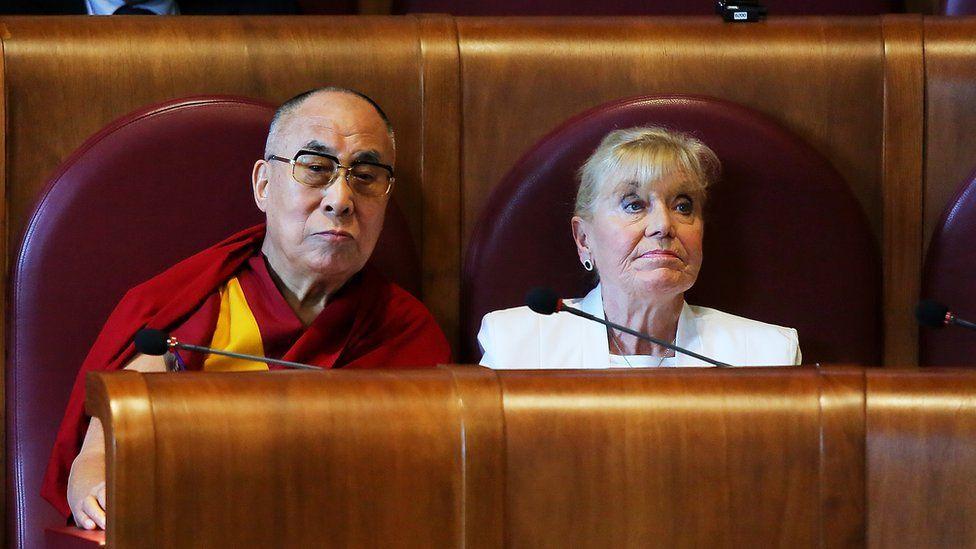 Betty Williams and the Dalai Lama