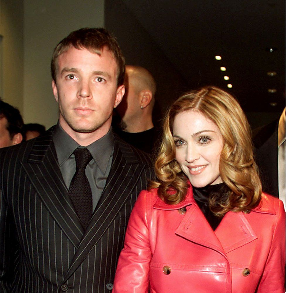 Guy Richie and Madonna at 'The Next Best Thing' premiere in New York City in 2000