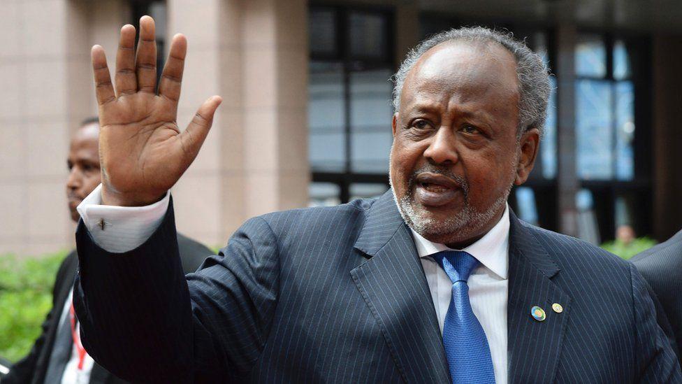 Djibouti's President Ismail Omar Guelleh