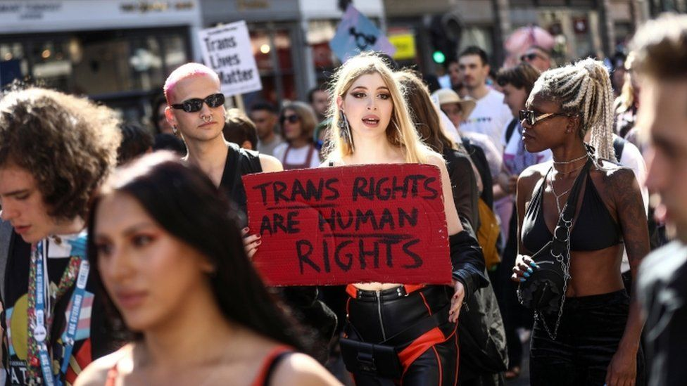 London's first Trans Pride support 'overwhelming'
