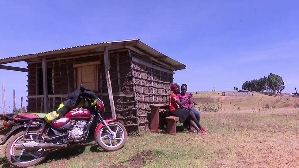 Sylvia Yeko at her home in Sebei, Uganda
