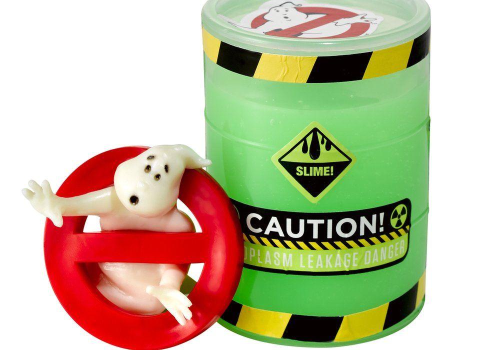 H Grossman's Ghostbusters slime