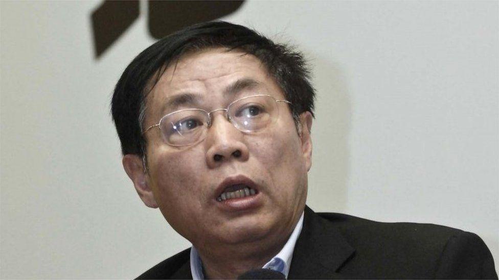 Ren Zhiqiang in Shanghai on 12 November 2010