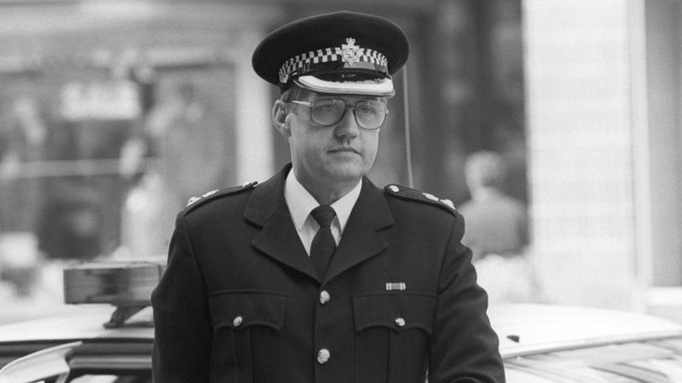 David Duckenfield in 1989
