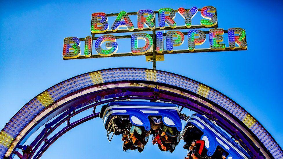 Barry's big dipper