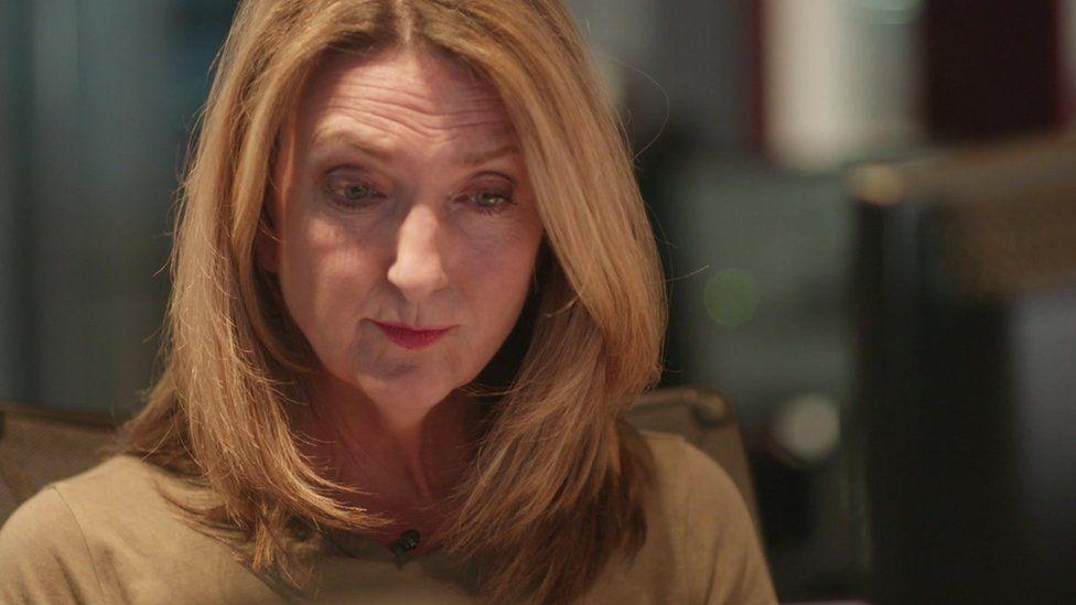 "Victoria Derbyshire interviewing ""Becky"""