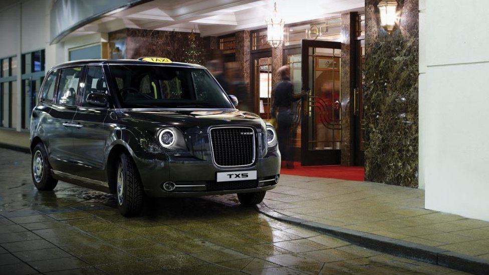 The TX5 - London Taxi Company's first all electric cab