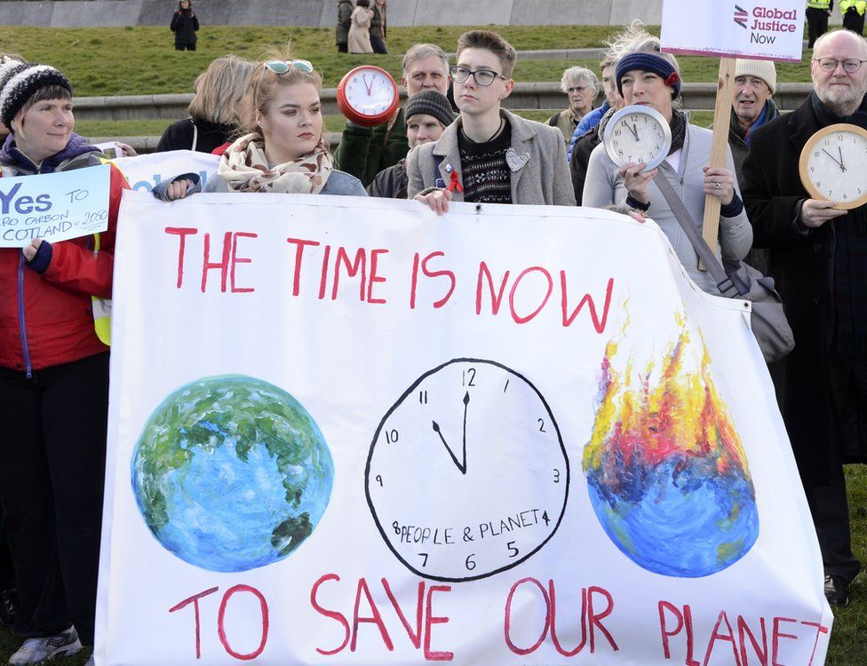 Climate change campaigners