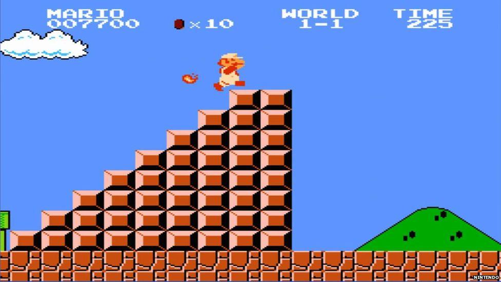 Super Mario Bros gameplay