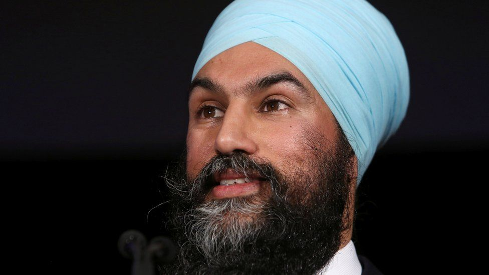 The leader of Canada's federal New Democratic Party (NDP) Jagmeet Singh