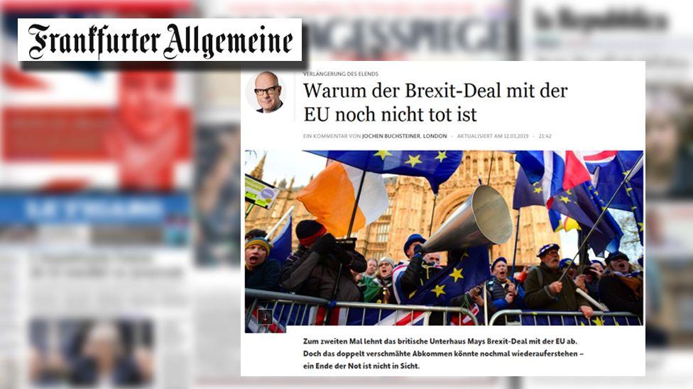 Frankfurter Allgemeine Zeitung screengrab