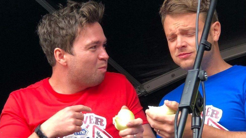 CBBC's Sam and Mark