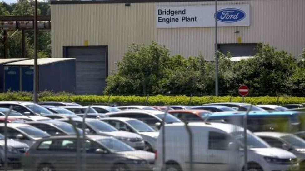 The Bridgend Ford plant