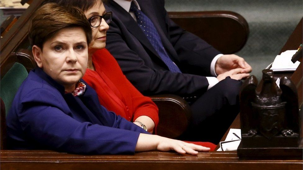 Prime Minister Beata Szydlo
