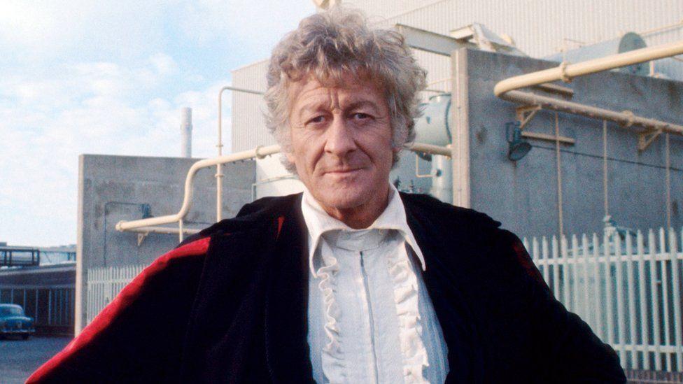 Jon Pertwee as The Doctor