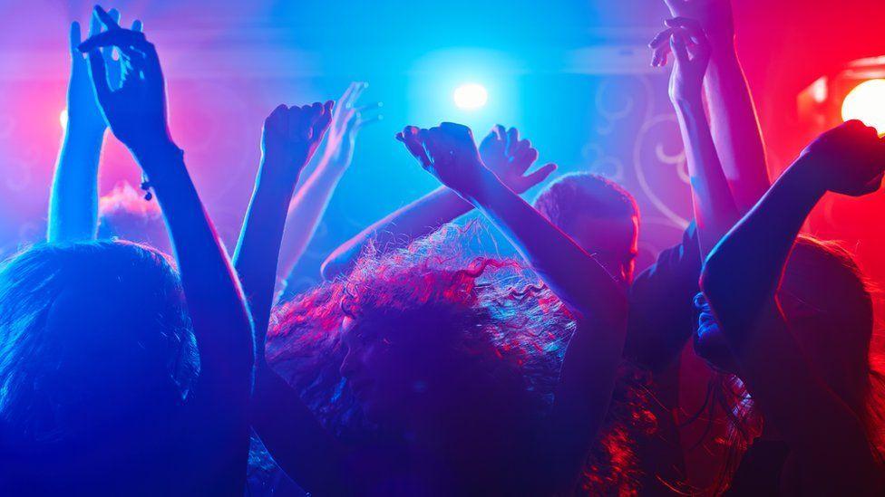 dancers in nightclub