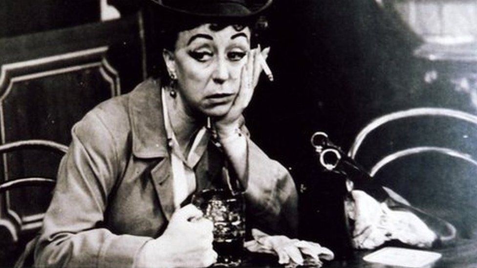 Dame Thora Hird in Saturday Night at the Crown 1956