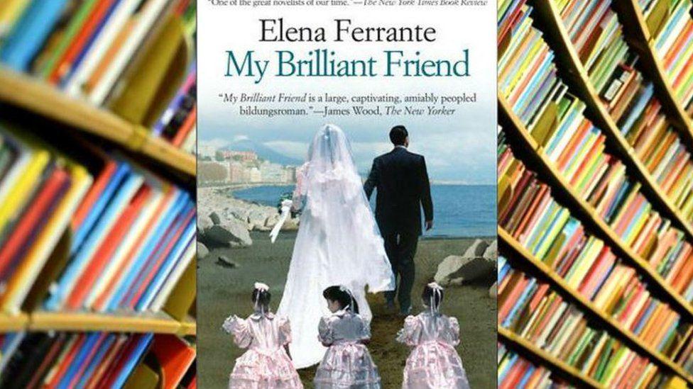 Copy of My Brilliant Friend book