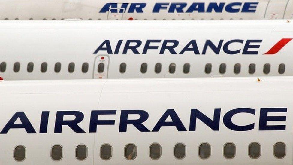 Air France airplanes