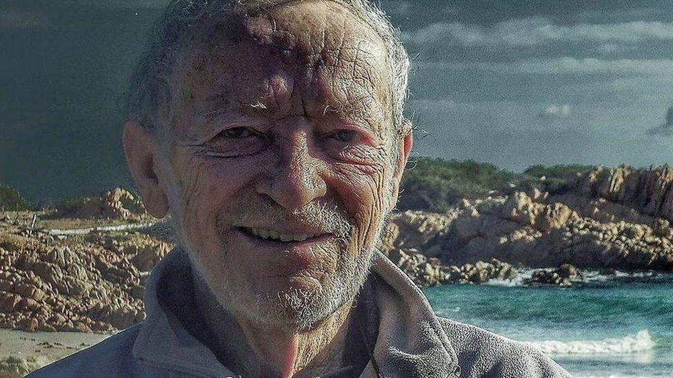 Mauro Morandi, Robinson Crusoe Dari Italia