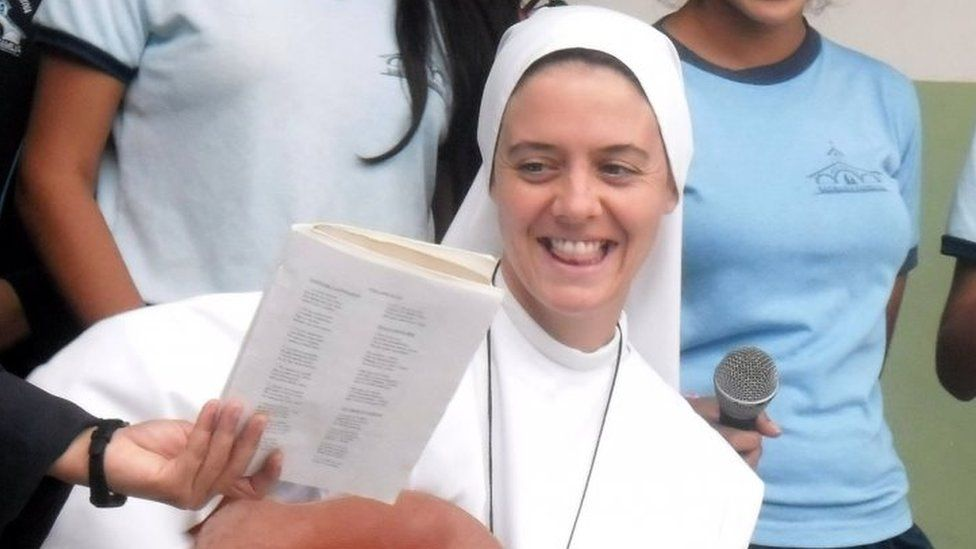Northern Irish nun, Sister Clare Theresa Crockett, was one of the quake victims in Ecuador (file picture)