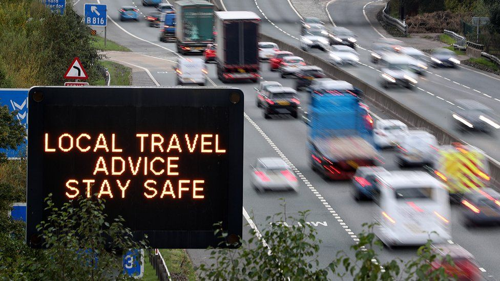 Stay safe sign