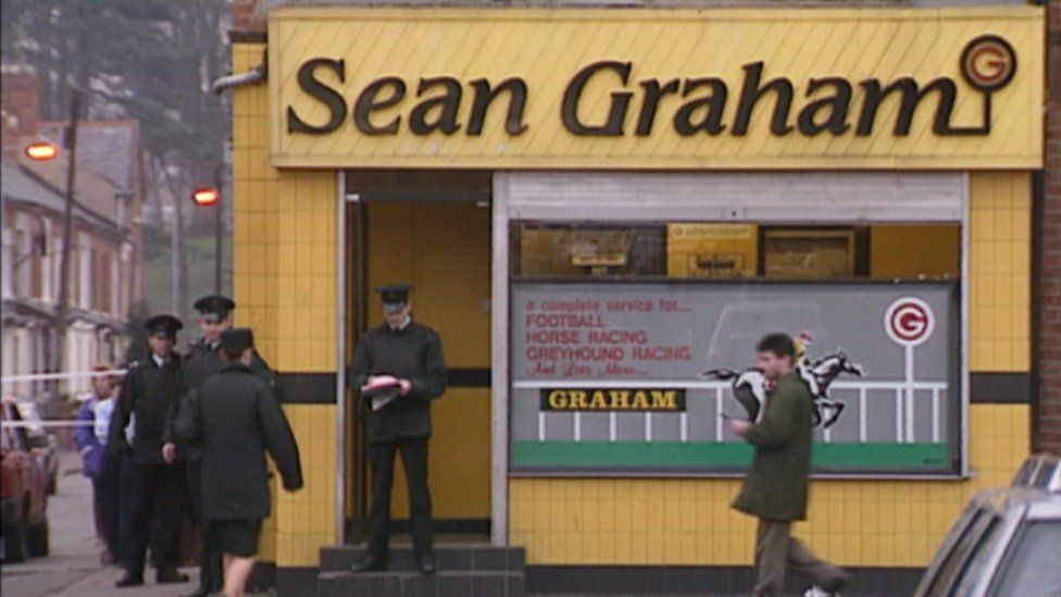 Shootings at Sean Graham bookmakers