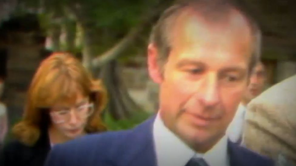 Screengrab from a 9news video of Roger Rogertson