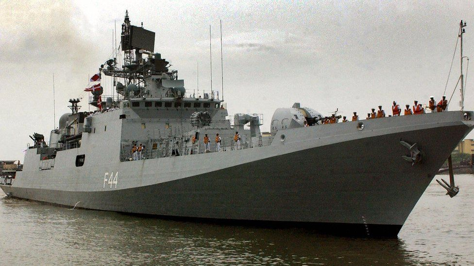 File photo of the INS Tabar