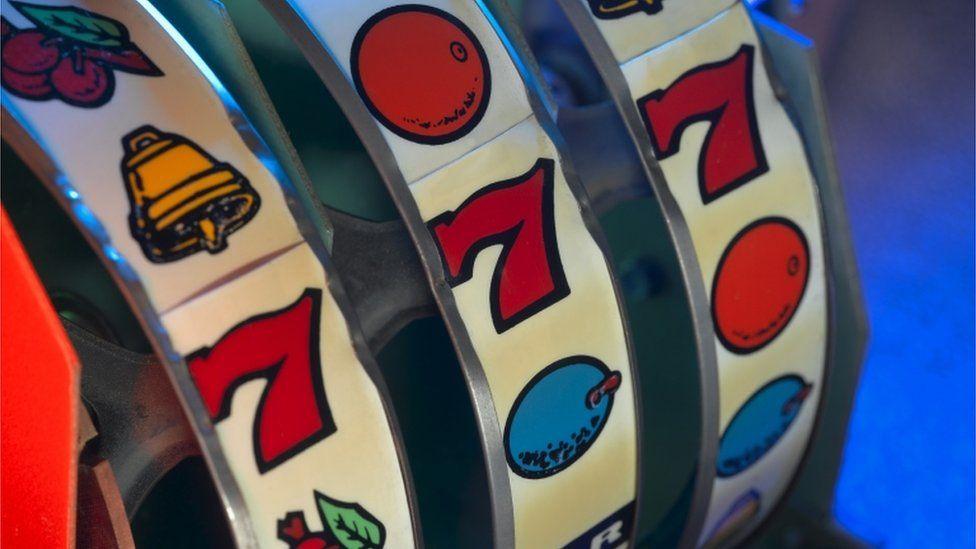 A slot machine