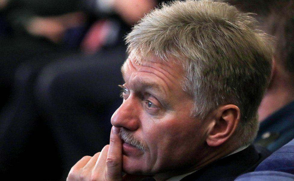 Russia's Presidential Spokesman Dmitry Peskov (file pic Feb 2020)