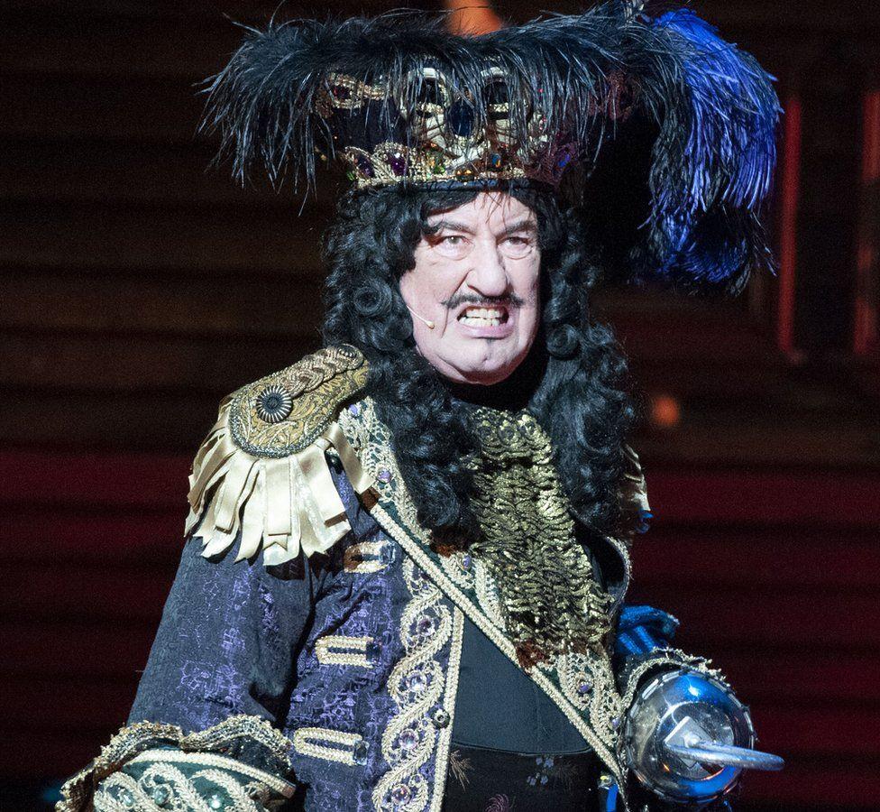 John Challis as Captain Hook