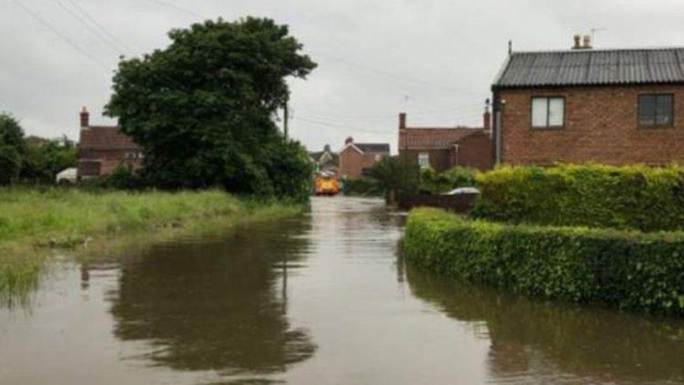 Wainfleet flooding