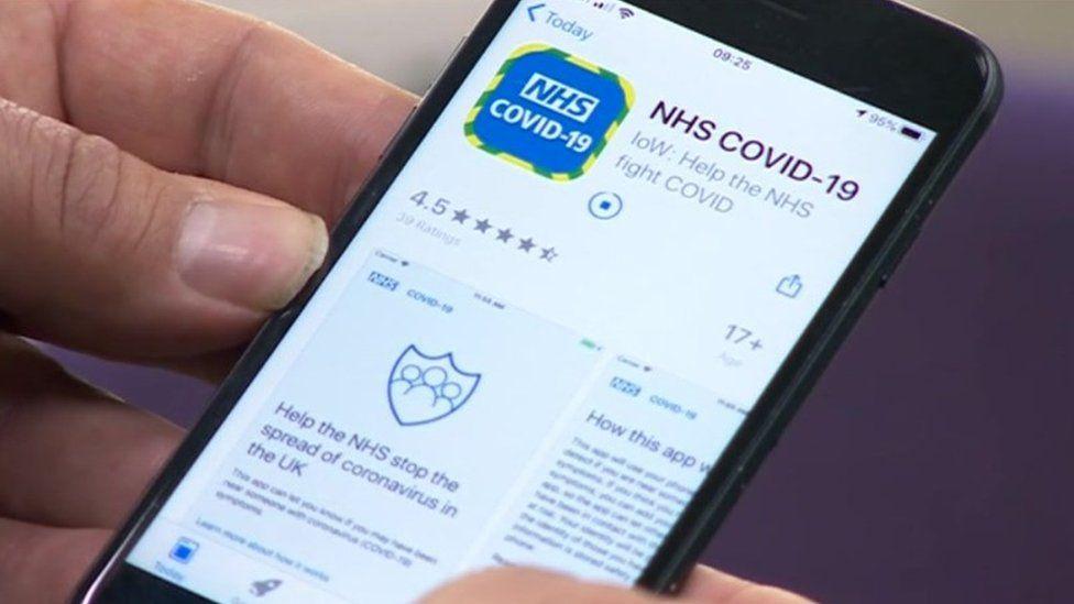 Coronavirus contact tracing app